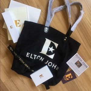 🆕 ELTON JOHN VIP Final Tour Bag Set